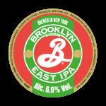 etichetta della birra artigianale brooklyn ipa