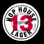 Etichetta della birra lager hop house