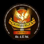 etichetta birra rossa d'abbazia grimbergen double