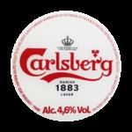 etichetta della birra lager carlsberg 1883