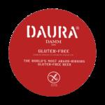 etichetta della birra senza glutine daura