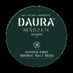 etichetta della birra senza glutine doppio malto daura marzen