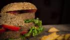 panini con beyond vegan double hamburger del millenium