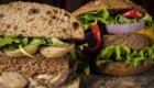 panini con beyond vegan hamburger del millenium