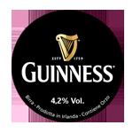 etichetta della birra irish stout Guinness