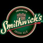 etichetta della birra rossa irish smithwick's